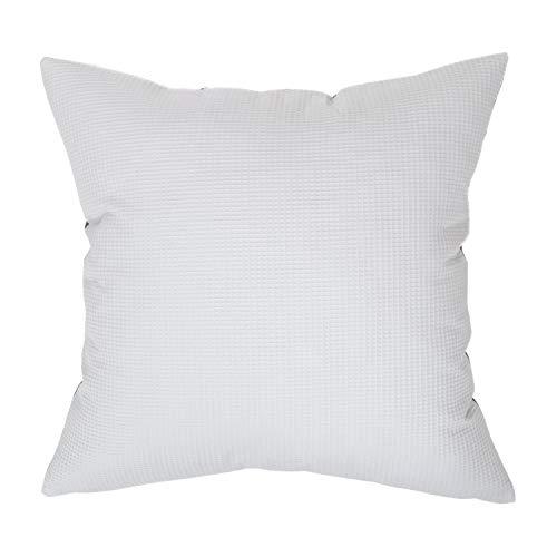 Amilian - Cojín decorativo de 80 x 80 cm con relleno; cojín decorativo con funda de almohada; cojín de sofá para dormitorio, salón, cremallera, decoración para niños, balcón
