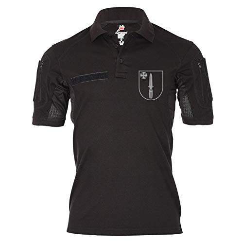Copytec Tactical Poloshirt Alfa SEK Sondereinsatzkommando Polizei BW Einsatz #19488, Größe:L, Farbe:Schwarz