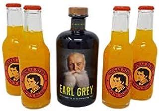 Earl Grey Rum Set mit Thomas Henry Mango 1x 0,5  4x 0,2l 37,8% Vol.