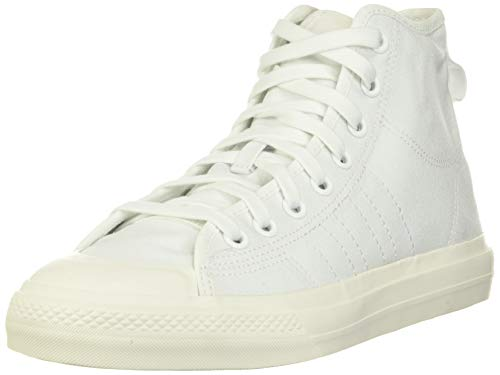 adidas Nizza Hi RF Vulcanized High Top Sneakers Shoes white Size: 9.5 UK