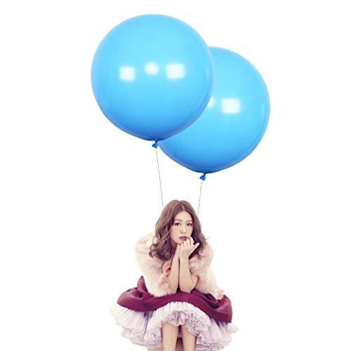 big light blue balloons - 2