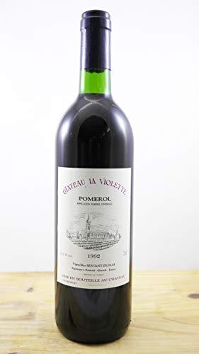 Vino Cosecha 1992 Château la Violette Botella
