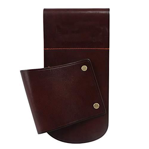 TOURBON Vintage Brown Leather Hip Scabbard Waist Belt...