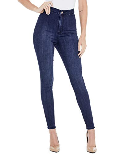 GUESS Factory Women's Nova Ultra High-Rise Curve Jeans