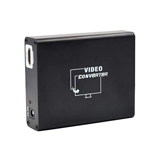 NK-C8 HDMI-zu-SCART-Konverter Funktionen des HDMI-zu-SCART-Konverters Videokonverter (10.2X8.4X2.8cm,Schwarz)