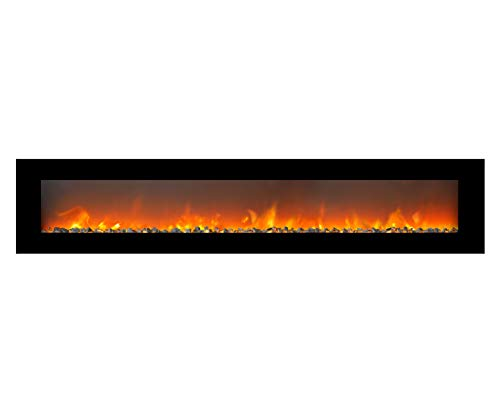 Xaralyn - Trivero 240 Elektrokamin elektrischer LED Wandkamin - kein Schornstein nötig