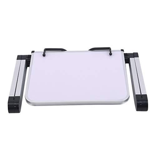 PPLAS Portátiles de Lectura Soporte Libros Documento Receta Estante Plegable Libro de Cocina Tableta Tableta Organizador Resto Rack Oficina Suministros Escolares (Color : White)