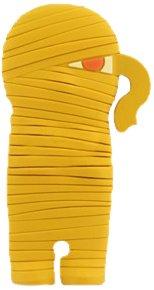 Bone Mummy Wrap per cuffie giallo