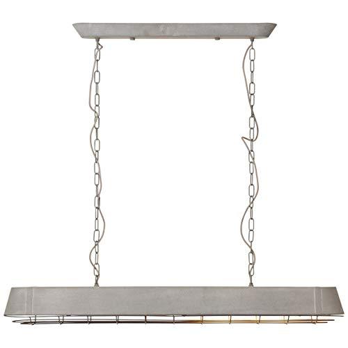 Brilliant Factory hanglamp 115x21cm grijs beton, metaal, 60 W