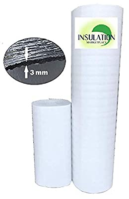 "Reflective Foam Insulation,Commercial Grade, Radiant Barrier, Vapor Barrier, Soundproofing Insulation,16""x50ft, 24""x50ft, 48""x50ft, 48""x100ft"