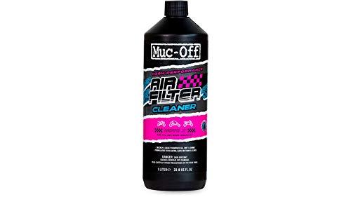 Muc-Off 20213 Air Filter Cleaner, 1 Litre - Biodegradable Foam Filter...