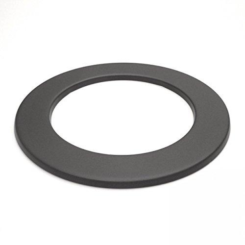 raik SH010-150-gg Rauchrohr/Ofenrohr 150mm - Wandrosette gussgrau