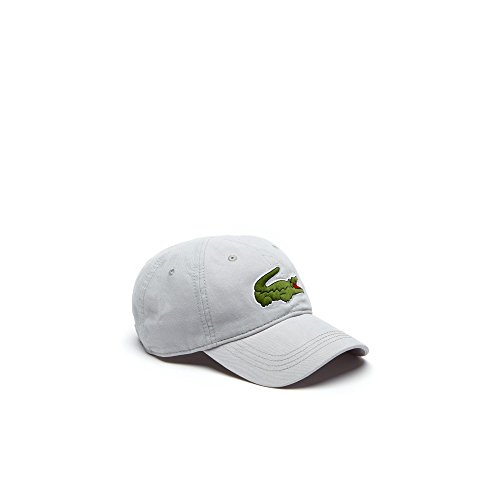 Lacoste Herren Big Croc Gabardine Cap, verstellbar - Nimbus