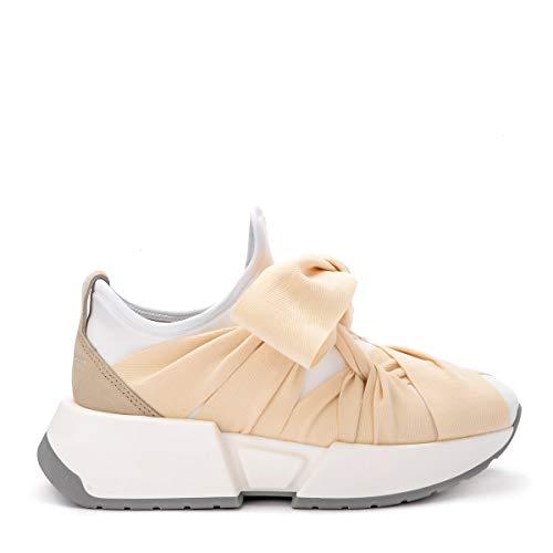 Maison Margiela Mm6 Women's Sneaker Mm6 in Neoprene Bianco 39(EU)-9(US) White