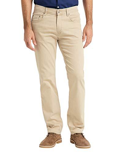 Pioneer Herren Rando MEGAFLEX Straight Jeans, Beige, 34W / 32L