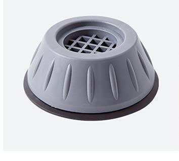 4 almohadillas para los pies de la lavadora, amortiguador de vibraciones, amortiguador de vibraciones para lavadora, antideslizante de goma, amortiguador de vibraciones para lavadoras y secadoras