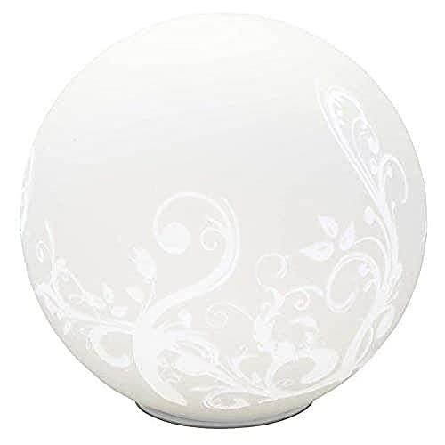 Brilliant AG 10548/05 Lampe à Poser, Verre, E27, 60 W, Blanc