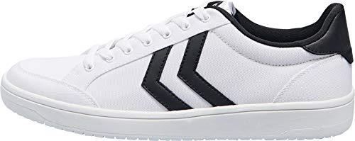 hummel Unisex Nassau Sneaker, White, 41 EU