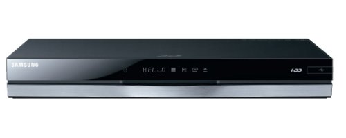 Samsung BD-E8300/EN 3D Blu-ray-Rekorder 320GB (2D/3D-Konverter, DVB-T/-C, WLAN) schwarz