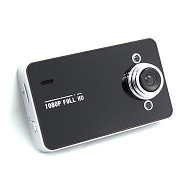 NJDSVBDKJ® K6000 HD 1080P Vehicle Blackbox DVR Camcorder Car Camera with 2.4