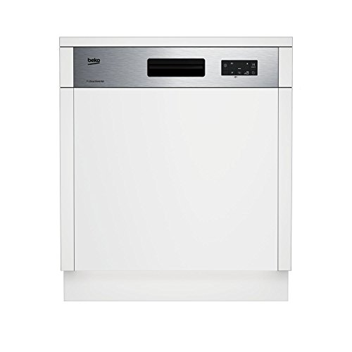 BEKO dsn15420 x semi geïntegreerde 14places A + + vaatwasser - vaatwasmachine (semi geïntegreerd, full size (60 cm), mand, roestvrij staal, 14-zits, 46 dB)