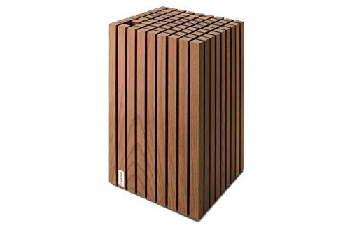 Wüsthof Messerblock (7262), Holz Thermobuche, für bis zu 12 Messer und 1 Wetzstahl, Klingenlänge bis 23 cm