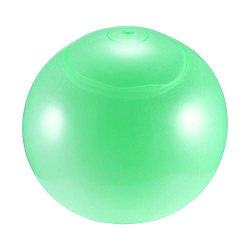 DeeCozy Inflatable Bubble Ball, Super Bubble Ball Inflatable Toys TPR Transparent Beach Bubble Ball, Beach Water Sports Outdoor Playing Toys, Blue/Green/Pink