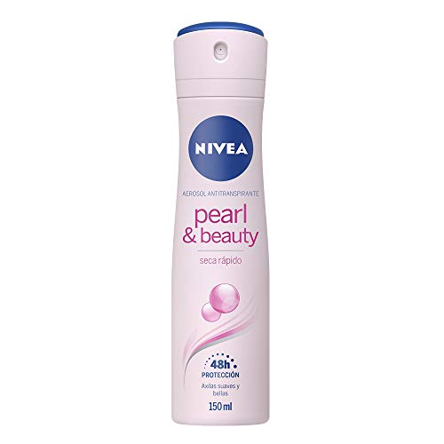 NIVEA Pearl & Beauty Anti-Perspirant Deodorant (150ml), 48hr Deodorant for...