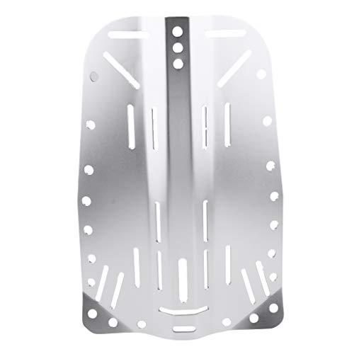 Sharplace Hochwertiger Aluminiumlegierung Scuba Diving Tauchen Backplate