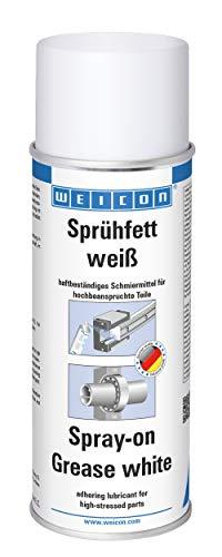 WEICON Sprühfett Weiß 400ml Mehrzweck-Sprühfett für Kugellager und Ähnliches