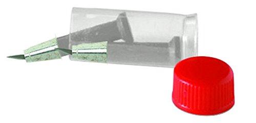 Original Fiskars Cuchillas de repuesto para Fiskars Cúter de Precisión con Cuchilla Pivotante, 2 unidades, Acero de calidad, Plata, 1003757