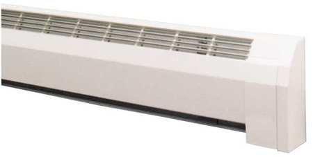 "24-3/4"" Hydronic Baseboard Heater, White"