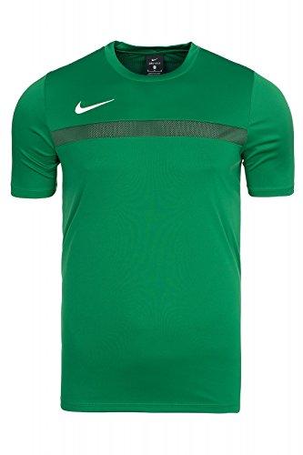 Nike Academy 16 SS Top, Maglia A Mezza Manica Uomo, Verde_Bianco, S