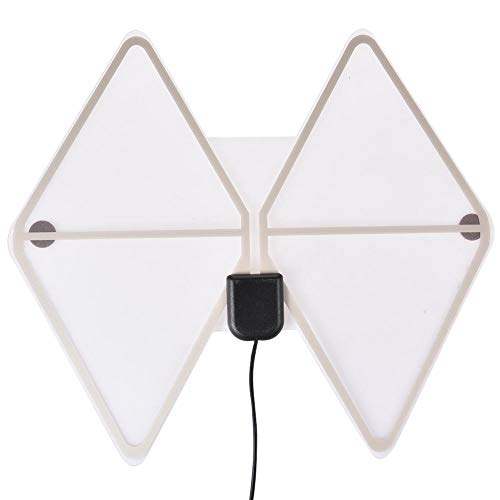 Antenne TV intérieure avec amplificateur de Signal Amplificateur Fox Antenne Antennes TV HD Antenne TV Radius Surf 1180 Miles 4K HDTV numérique