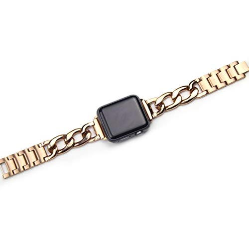 Correa de acero inoxidable para Apple Watch Series 6 SE 5 4 3 40 mm 44 mm pulsera para reloj Iwatch se 6 38 mm 42 mm For 42mm and 44mm