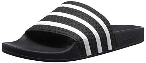 adidas Originals Adilette, Chaussures de Plage & Piscine mixte adulte - Noir (Black/White/Black), 38