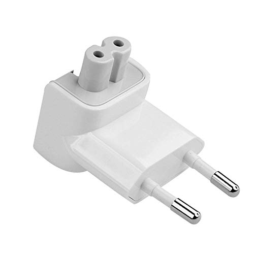 TB 2 PIN Power Adapter Plug For All MacBooks USB-C Power Adapters, MagSafe and MagSafe 2 Power Adapters 10W 12W Replacement 2 Pin AC Power Adapter