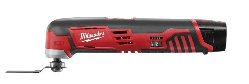 Milwaukee Electric Tool 2426-21 M12 Cordless Multi-Tool Kit, 12 V, Li-Ion, 1.5 Ah, 5000-20000 opt
