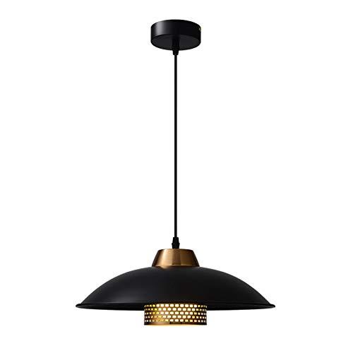 Lámpara de araña, nórdica, retro, cafetería, bar, mesa de comedor, dormitorio, entrada, balcón, pequeña lámpara de araña [Clase energética A +] (color: luz blanca)
