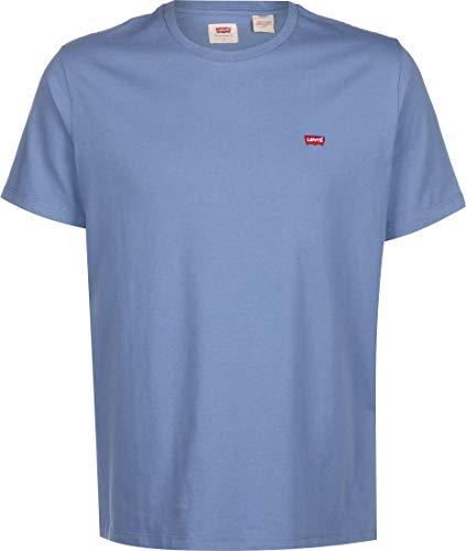 Levi's SS Original Hm tee Camiseta, Colony Blue, L para Hombre