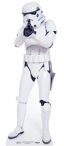 falksson Aufsteller aus Pappe Stormtrooper - Star Wars in Lebensgröße 183 cm