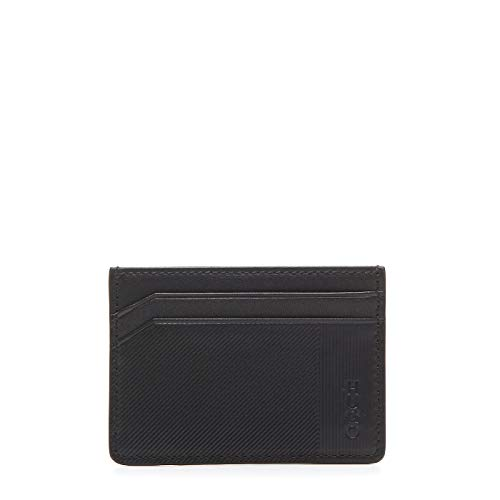 HUGO Heren Subway Mr_s Card Credit Card Case Cover Black (Black), 0.1x7x10 cm
