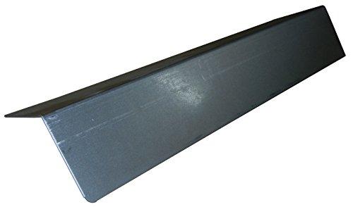 Musique City métaux 96671 Plaque de Chaleur en Acier Inoxydable pour barbecues à gaz, Argent