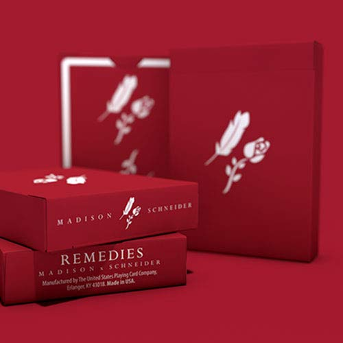SOLOMAGIA Remedies Playing Cards by Madison x Schneider