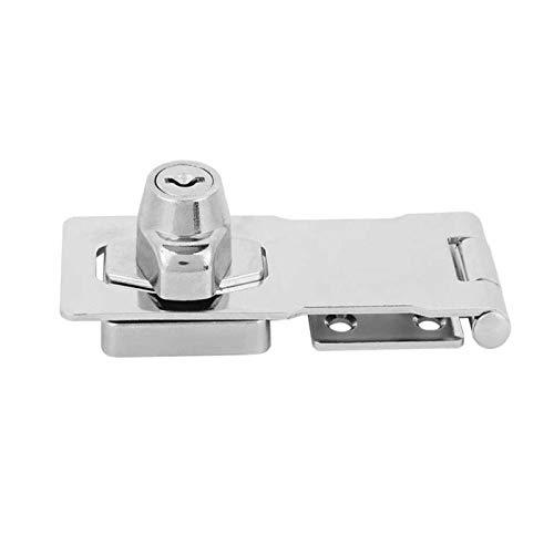 Cajón de aleación de aleación de zinc del hogar Muebles de bloqueo de gabinete con llave llave en clave de seguridad Cerradura de la puerta de seguridad Gaodpz