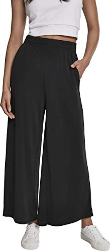 Urban Classics Damen Ladies Modal Culotte Hose, Schwarz (Black 00007), M