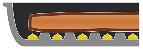 アーネストグリルパン(ふた付き)IH対応(煙が出にくい/余分な油が切れる/解凍ができる/お手入れカンタン)ベルフィーナ大手飲食店愛用ブランドA-76159