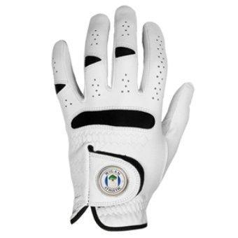 Villarreal CF guante de Golf con marcador de bola magnética medio MLH