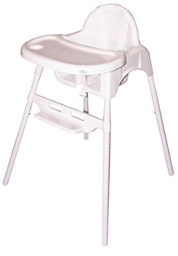 Bebe Style Baby Hochstuhl & Kinderhochstuhl – klassischer 2in1 Babyhochstuhl, Babystuhl, Kinderstuhl & Kindersitz zur einfachen Reinigung