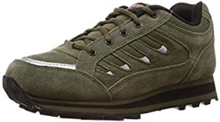 Lakhani Touch 111 Olive Jogging Shoes for Men